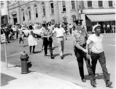 People protesting racial injustice